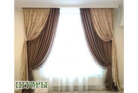 Шикарные шторы в гостиную