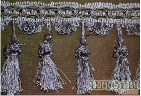 Бахрома - кукурузка лиловый металик