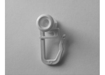 Крючок - ролик для карниза U-шина