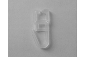 Крючок на алюминиевый карниз с застежкой