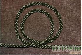 Декоративный витой шнур  для штор бутылочный 10-С